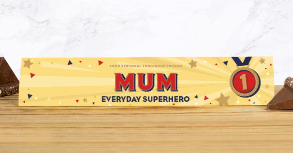 Toblerone for mum