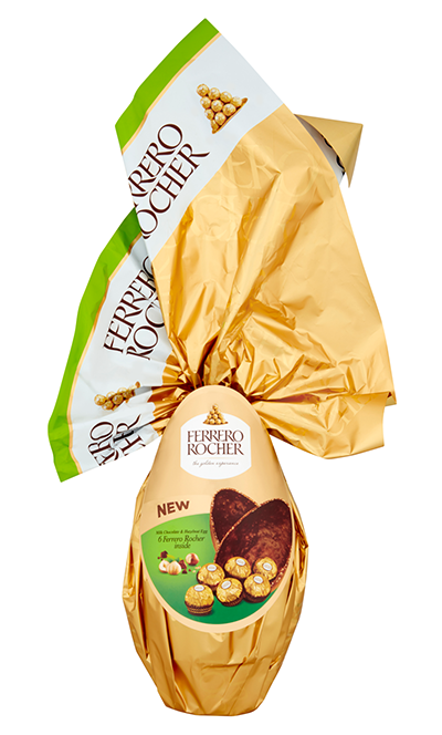 Ferrero Rocher Flame Egg