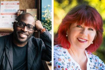 RNA Award Winners - Mike Gayle (Pic: Simon Weller) wins , Outstanding Achievement Award; Milly Johnson wins The Goldsboro Books Contemporary Romantic Novel Award