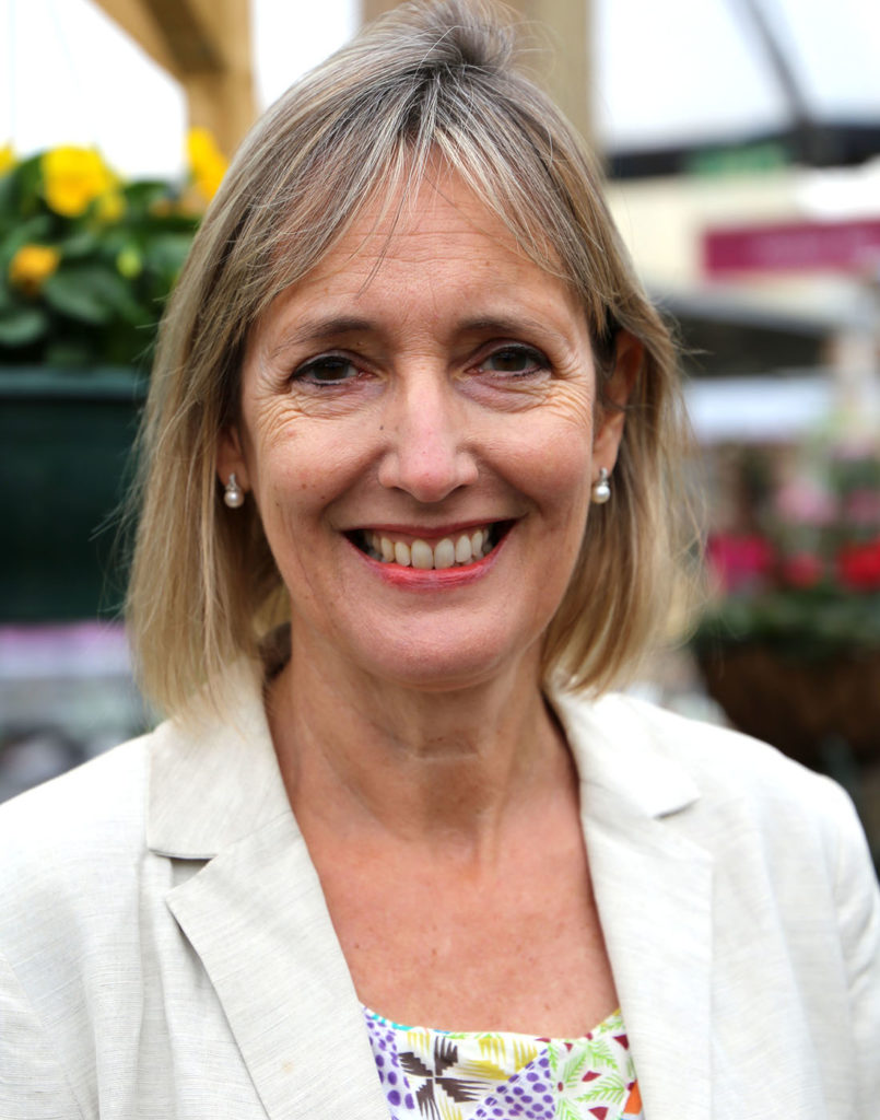 Sarah Squire, Chairman of Squire's Garden Centres.