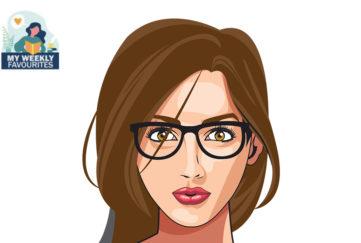 Pretty lady wearing specs Illustration: Shutterstock