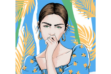 Lady looking pensive Illustration: Shutterstock