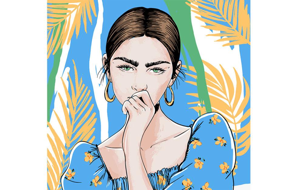 Lady looking pensive Illustration: Shutterstock
