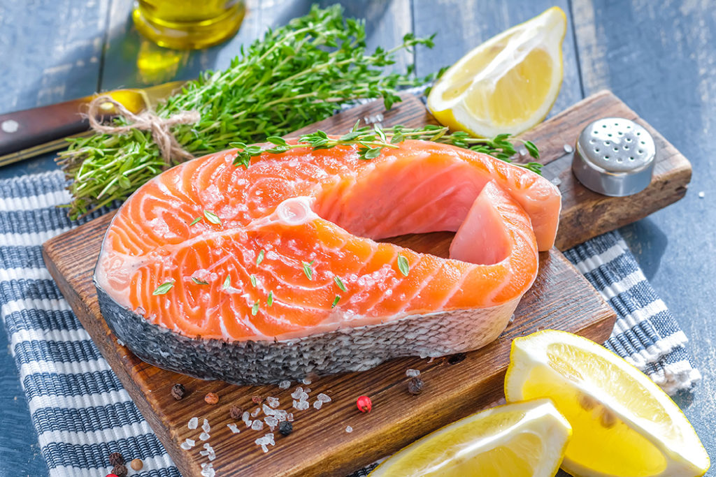 Salmon and lemon Pic: Shutterstock