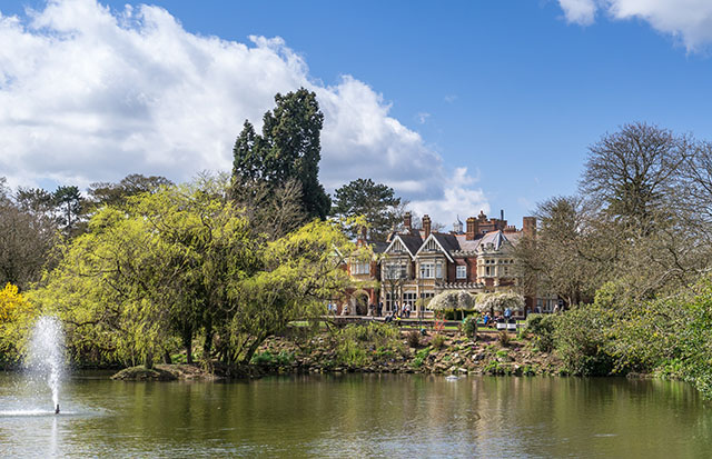 Bletchley Park in Buckinghamshire Pic: Shutterstock