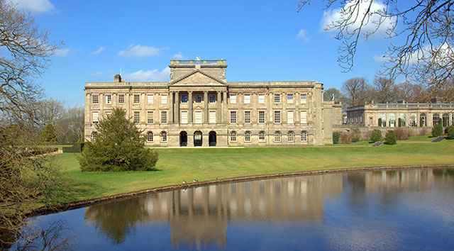 Lake view of the Lyme Hall and park Pic: Shutterstock