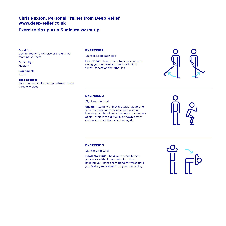 Deep Relief Exercises 2