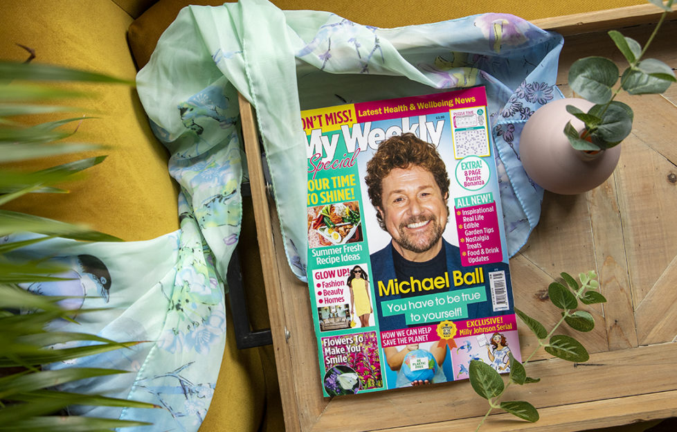 Cover of my weekly special 75 with Michael Ball