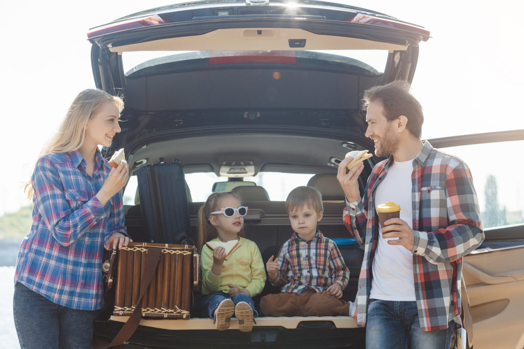 Travel by car family trip together vacation; Shutterstock ID 682593577