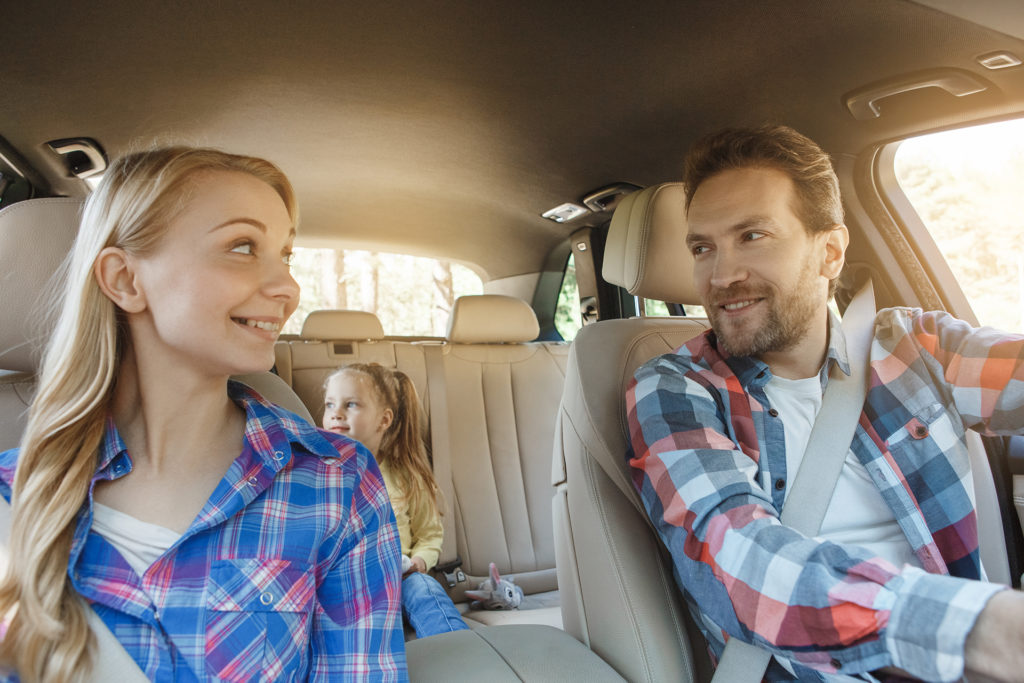 Travel by car family trip together vacation; Shutterstock ID 682593568