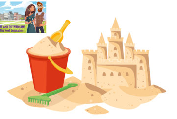 Sandcastle and bucket Illustration: Shutterstock