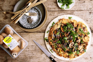 Mushroom pastry recipe