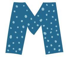 M illustration