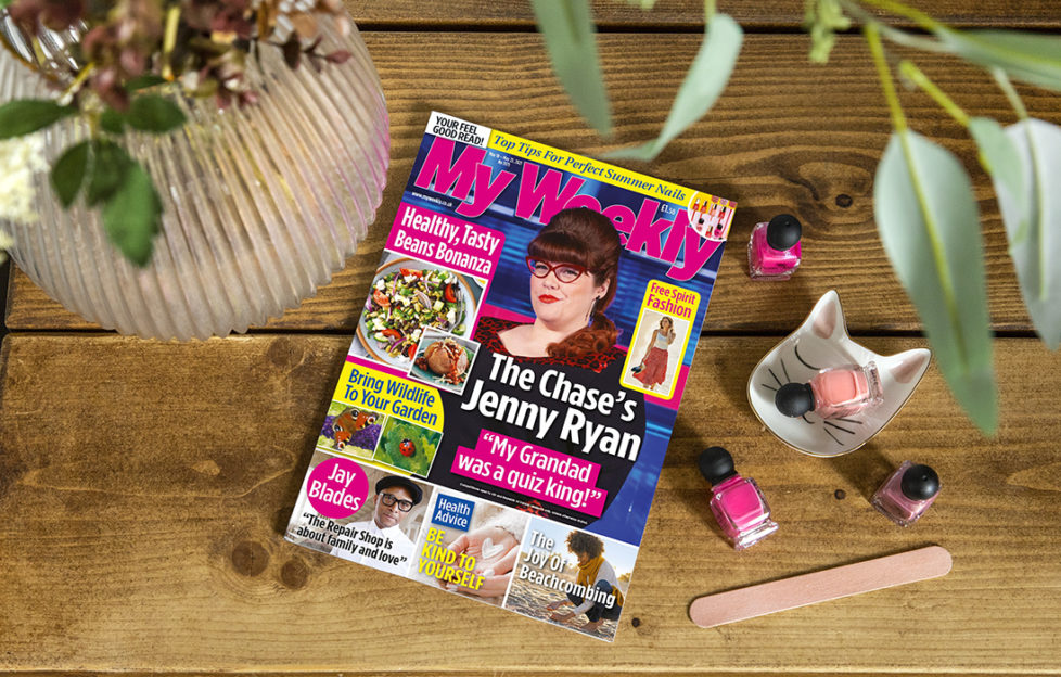 my weekly latest issue May 18 with Jenny Ryan and Beans Bonanza cookery