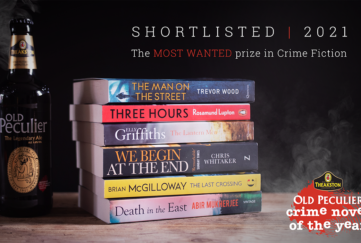 Shortlisted book stack