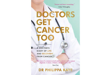 The cover of Doctors Get Cancer Too
