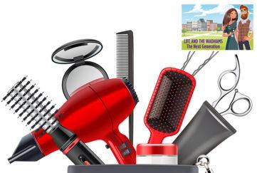 Hairdressing tools Illustration: Shutterstock