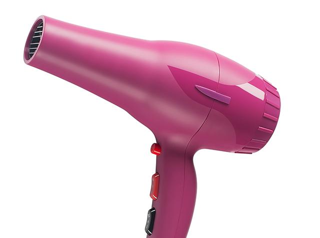 Hair dryer Pic: Shutterstock