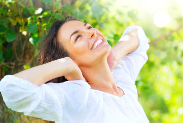 Happy, healthy woman Pic: Shutterstock