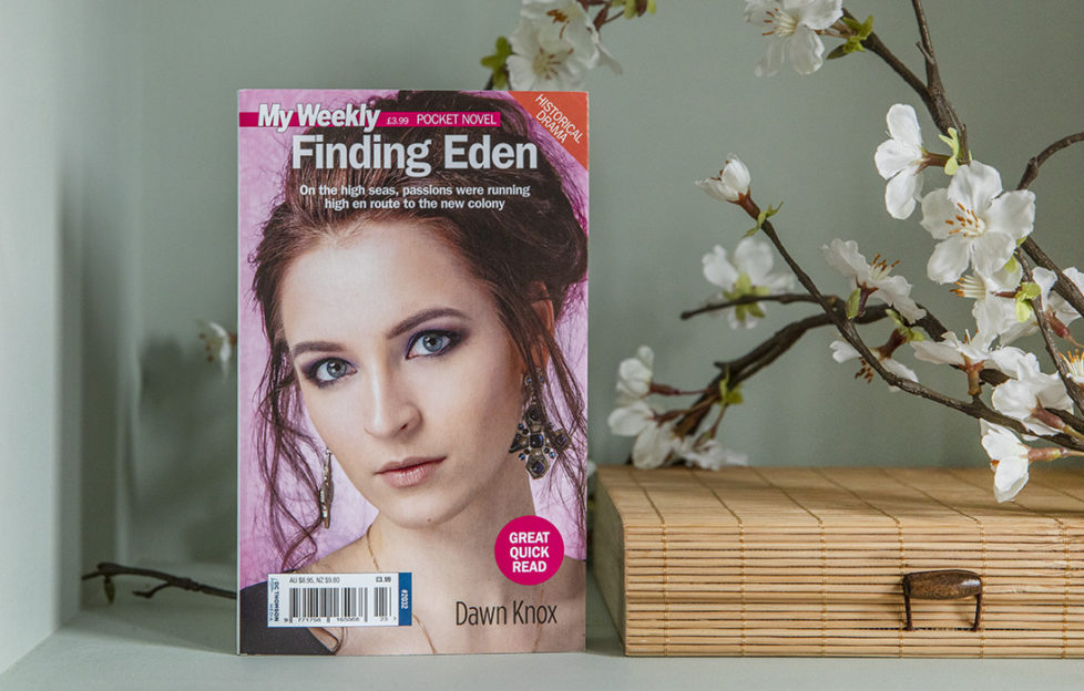 Cover of pocket novel Finding Eden