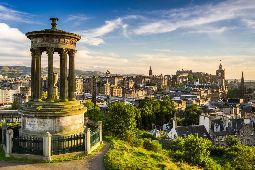 View from Calton Hill, Edinburgh