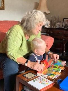 Jenny and grandson