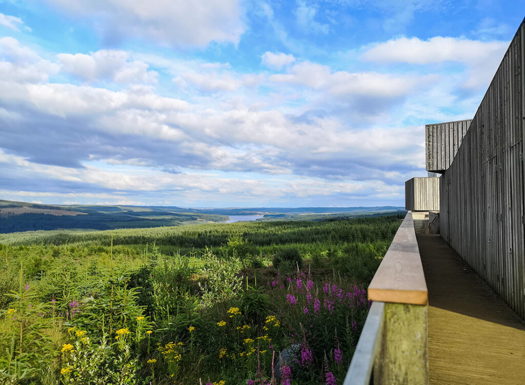 View from Kielder Observatory, Northumberland Pic: Shutterstock / Francesca Taylor