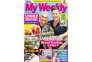 Cover of My Weekly latest issue with Craig Revel horwood, Bruno Tonioli and smoothie recipes