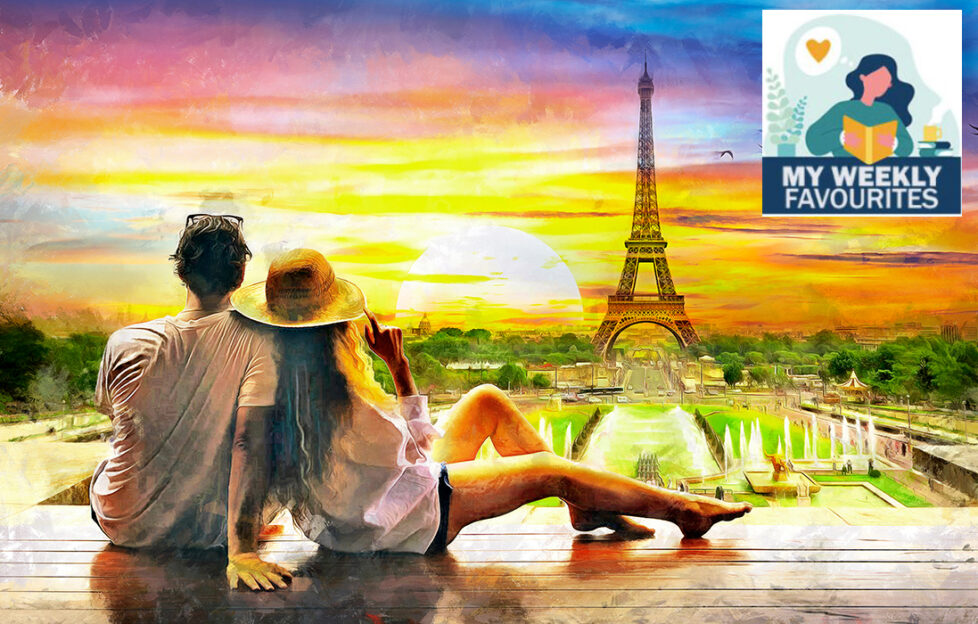 Couple at sunset looking from a distance at Eiffel Tower Illustration: Shutterstock