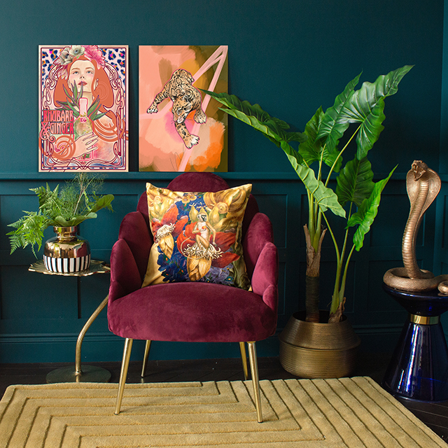A tropical look for your home from Audenza