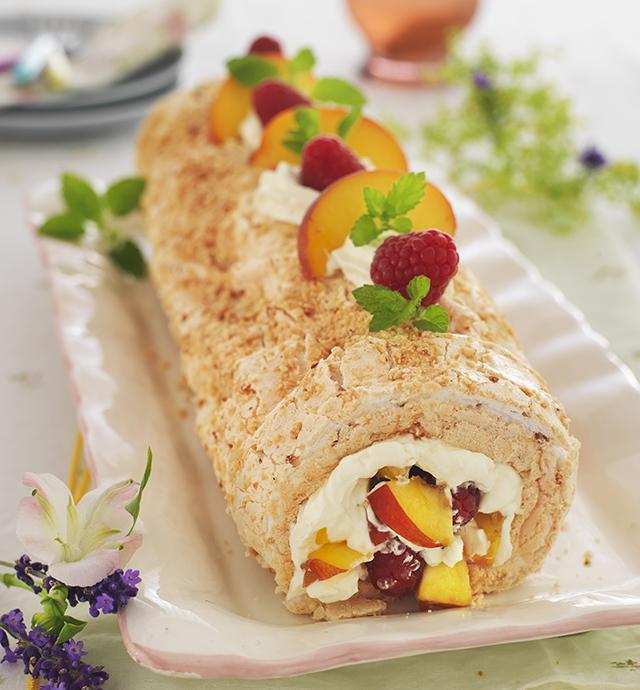 Hazelnut Roulade recipe