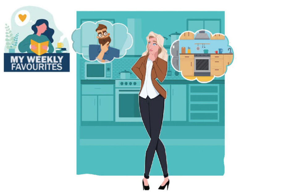 Woman thinking about her new kitchen Illustration: Shutterstock