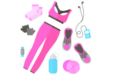 Pink gym outfit Illustration: Shutterstock