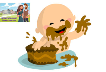 William smashing his cake Illustration: Shutterstock