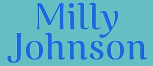 Milly Johnson branding