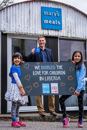 Double The Love Campaign for Liberia