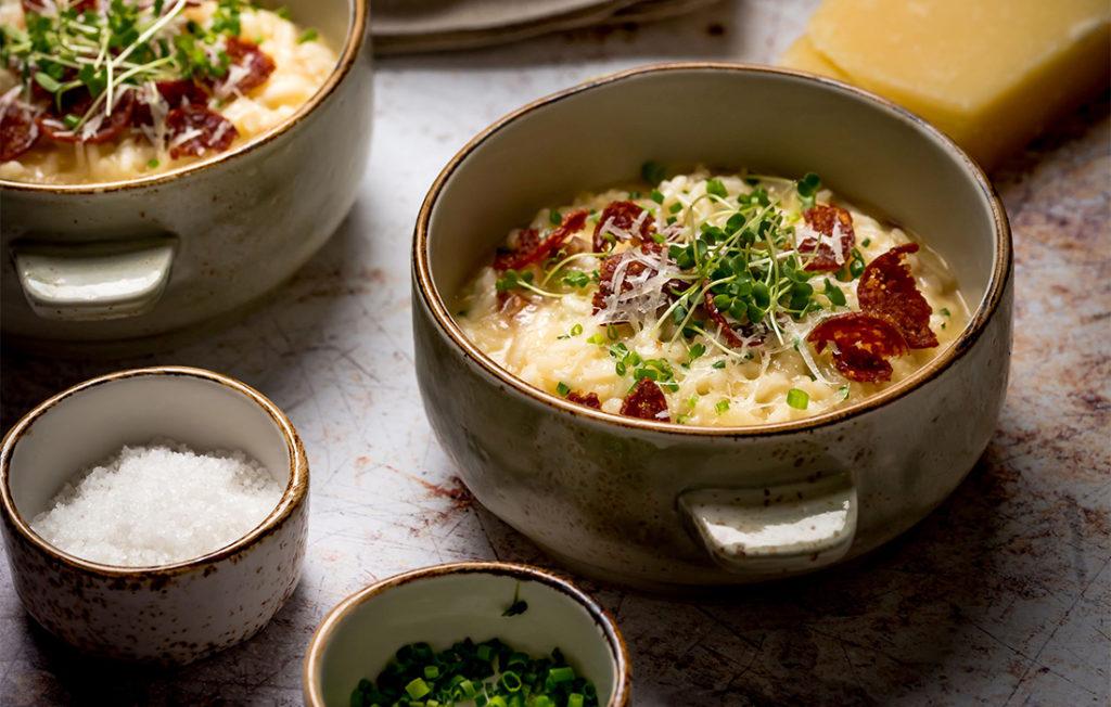 Peperoni risotto