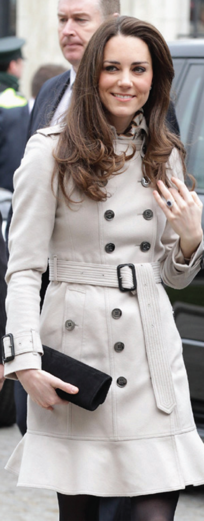 Featured Image for The Belted Coat  – Kate Middleton