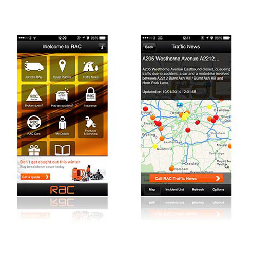 Featured Image for RAC Mobile Traffic App