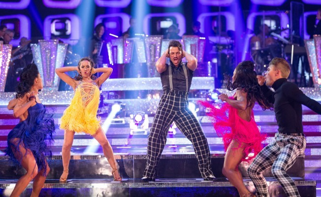 Peter Andre on Strictly Come Dancingg