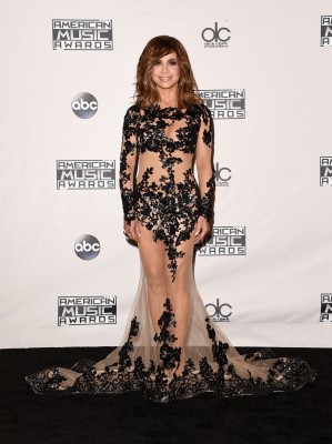 LOS ANGELES, CA - NOVEMBER 22: Recording artist Paula Abdul poses in the press room during the 2015 American Music Awards at Microsoft Theater on November 22, 2015 in Los Angeles, California. (Photo by Jason Merritt/Getty Images)