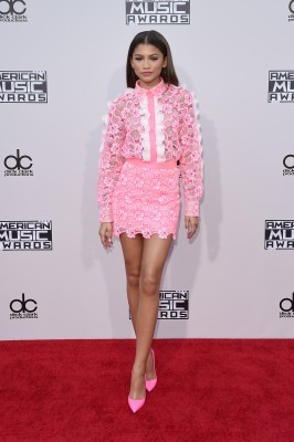 LOS ANGELES, CA - NOVEMBER 22: Recording artist Zendaya attends the 2015 American Music Awards at Microsoft Theater on November 22, 2015 in Los Angeles, California. (Photo by Jason Merritt/Getty Images)