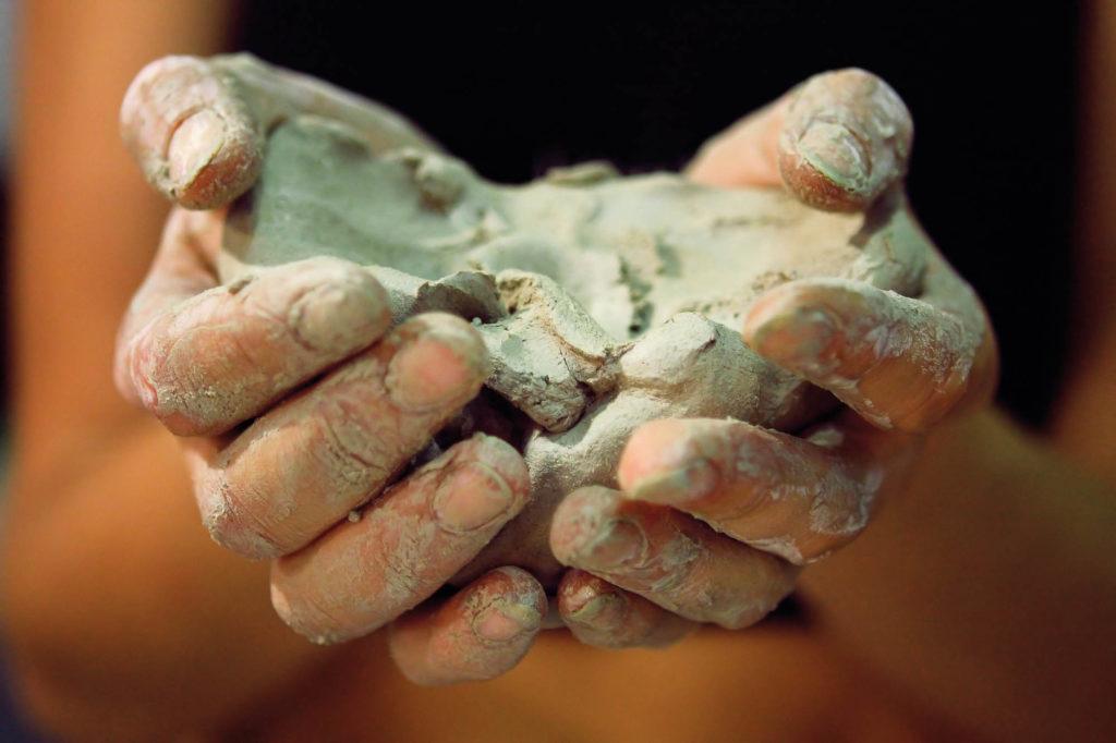Drinking clay