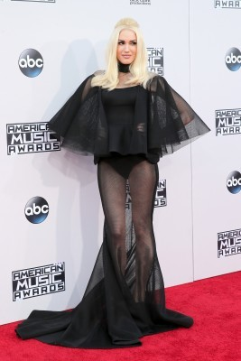 LOS ANGELES, CA - NOVEMBER 22: Singer Gwen Stefani attends the 2015 American Music Awards at Microsoft Theater on November 22, 2015 in Los Angeles, California. (Photo by Mark Davis/Getty Images)