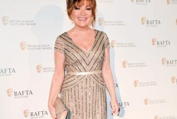 Lorraine Kelly British Academy Scotland Awards