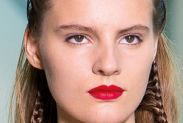 bright red lipstick shade