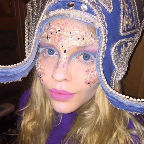 lapland elf make-up