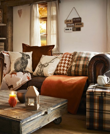 cosy textures home ideas