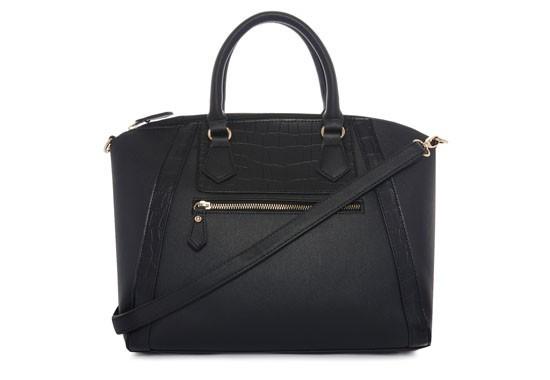 Primark Black Winged Tote Bag