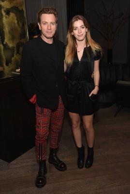 Ewan with daughter, Clara